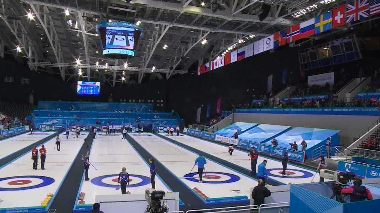 大冬会 | 女子冰壶顺利完赛