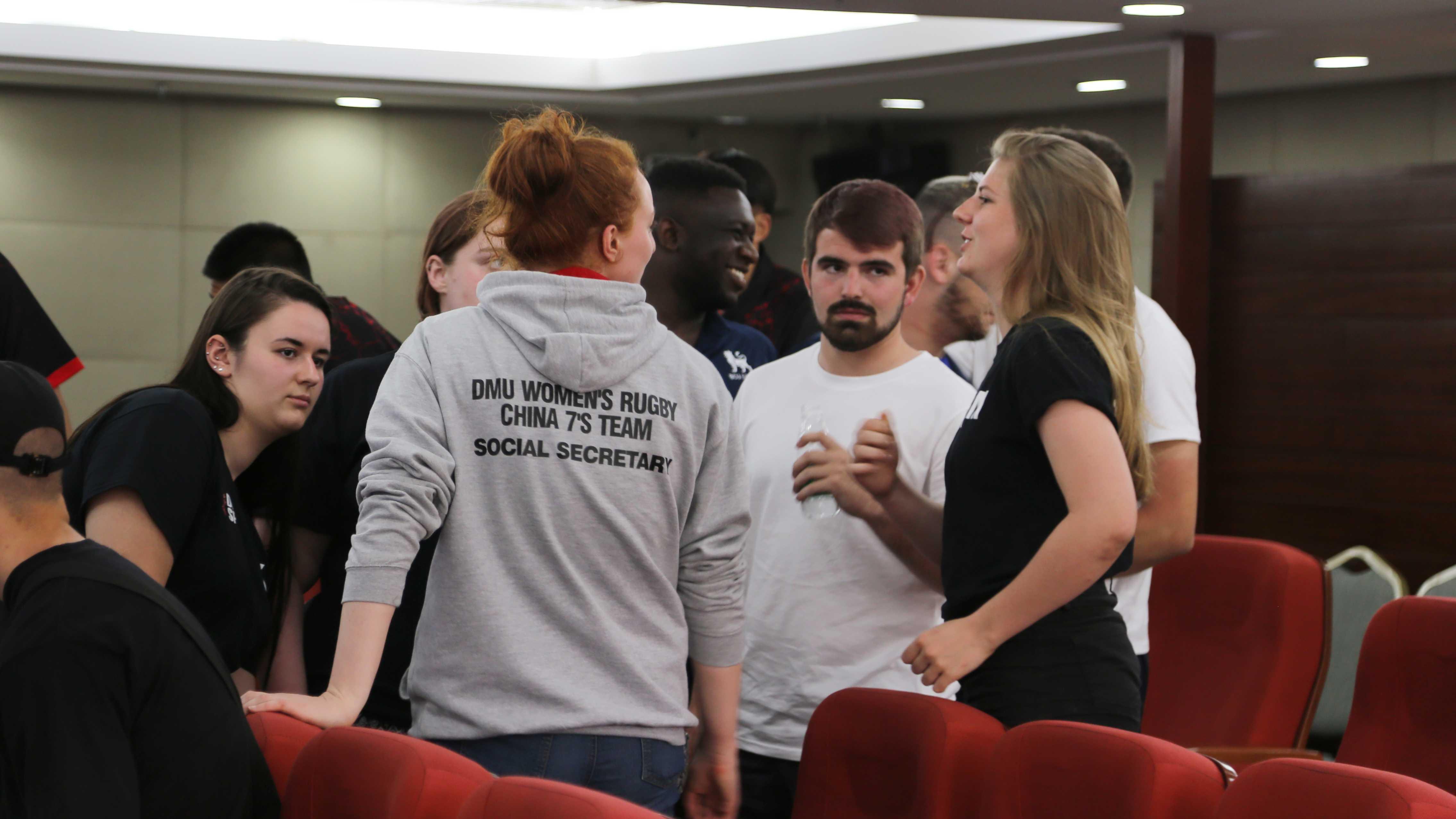 快讯 | 中英大学生英式橄榄球发展研讨会以及中英大学生文化交流会