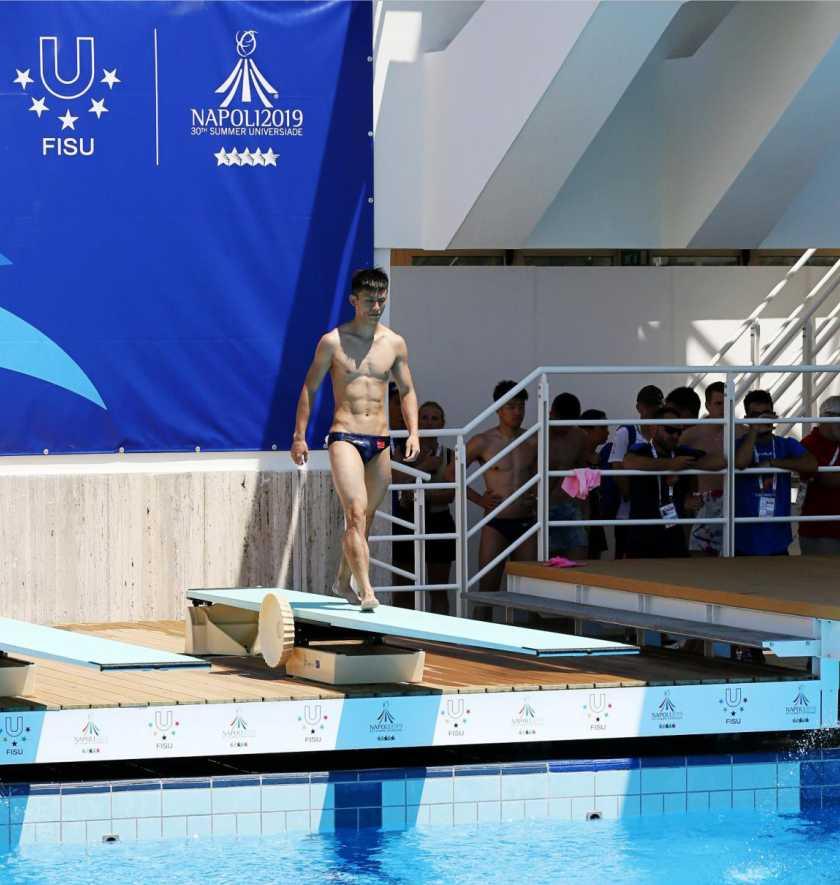 快讯丨世界大夏会男子一米板中国队2人晋级决赛